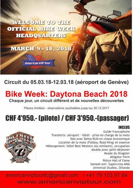 Circuit moto bike week 2018