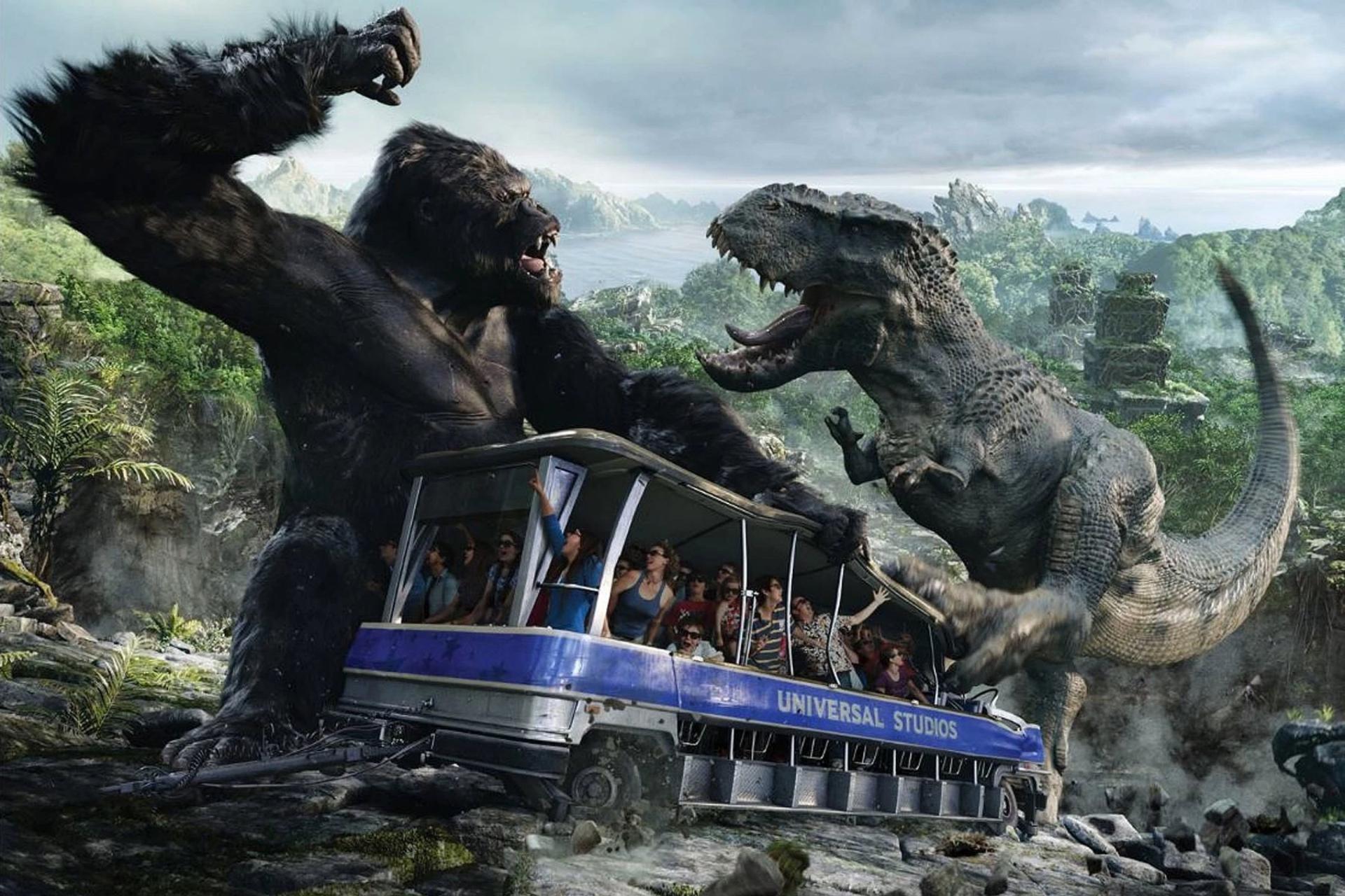 King Kong vient à votre secours!